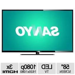 """SANYO DP58D34 58"""" Class LED TV"""