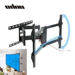 US Ship Dual Arm Full Motion Curved 4K TV Wall Mount Bracket