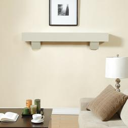 Overstock Duluth Forge 60-Inch Shelf Corbels-Antique White F
