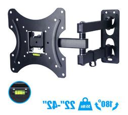 E15SB Full Motion TV Wall Mount Bracket 13 32 42 47 50 Inch
