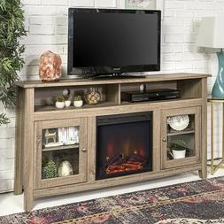 Electric Fireplace TV Console Stand For 60 Inch Flat Screen
