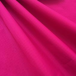 "EMMAKITES Hot Pink Ripstop Nylon Fabric 60""x36"" 48g  of Wate"