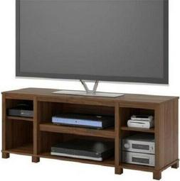 Entertainment Cubby TV Stand, up to 50 inch TV, Walnut Mediu