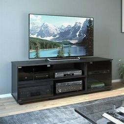"""Sonax by CorLiving Fiji 60"""" TV Stand in Ravenwood Black"""
