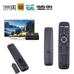Fit Phillips Remote Control for TV DVD New Universal Black N
