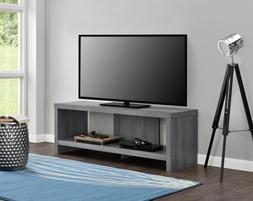 Flat Screen TV Stand 60 Inch Entertainment Center Wood AV Me