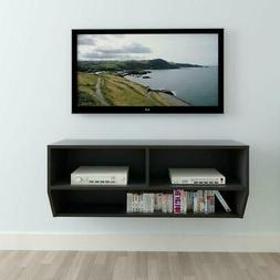 Floating TV Stand Wall Mount Entertainment Center Cabinet Me