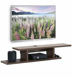 Floating Wall Mount Media Console Entertainment Center TV St