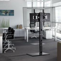 TV Floor Stand Mount DVD Shelf For 32 42 50 55 60 65 RCA Sha