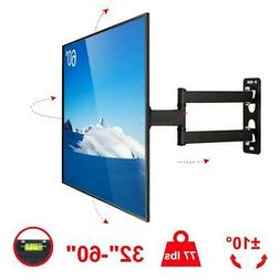 "Full Motion TV Wall Mount Bracket 32""37""42""46""50""55""60"" inch"