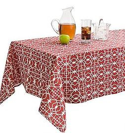 Benson Mills Geo Indoor/Outdoor Spillproof Tablecloth