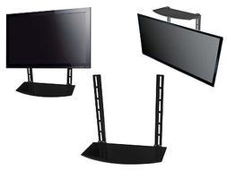 Glass Shelf Above Below Under TV Wall Mount Bracket Componen