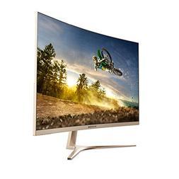 VIOTEK GN32Q - 32 Inch WQHD 144 Hz Curved Computer Monitor -