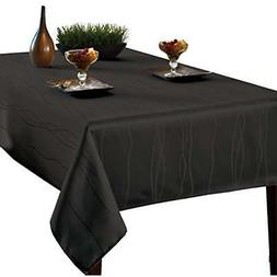 gourmet spillproof fabric tablecloth