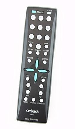 Sanyo GXBD LCD TV Remote Control for DP46819, DP46848, DP507