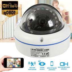 HD 1080P IP Camera POE Waterproof Outdoor IR Speed Dome CCTV