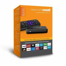 HD/4K/HDR Streaming Media Player with Simple Remote and Pr