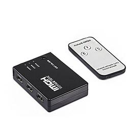 ddLUCK 3 Port HDMI Switch with Remote HDMI1.3b  Video/Audio