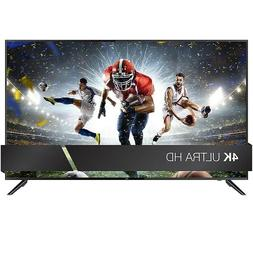 "HDTV 50 Inch 4K Ultra HD TV 50"" Television JVC LED Built in"