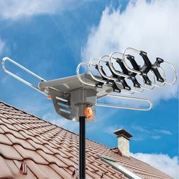 Amplified TV Antenna ViewTV Range Flat HD Digital w/ Amplifi