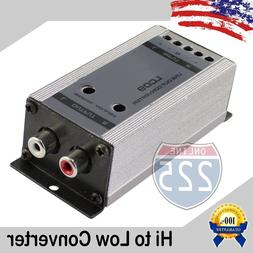 High to Low Output Converter w Gain Control 2-Channel Speake