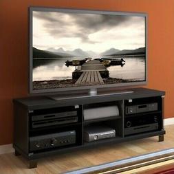 Sonax Holland Midnight Black 59-inch TV/ Component Bench