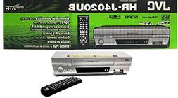The New JVC HR-J4020UB VHS 4 Head VCR Player M-PAL NTS hrj40
