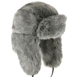 Huskie Ushanka Soft Faux Fur Trapper Winter Hat Ear flaps Me