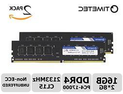 Timetec Hynix IC 16GB Kit  DDR4 2133MHz PC4-17000 Non ECC Un