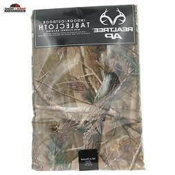 Design Imports Realtree AP PEVA Vinyl Tablecloth Flannel Bac