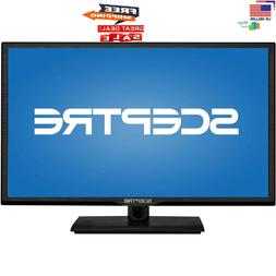 "Sceptre 24"" Inch 1080p 60Hz Class LED FULL HD TV w/ HDMI & U"