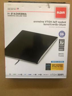 Rca Indoor Flat HDTV Antenna Multi-directional ANTB25Z