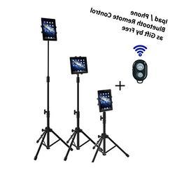 Ipad Tripod Mount Floor Stand, Vstyle Height Adjustable 20 t