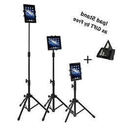 Ipad Tripod Mount Floor Stand, Weiyudang Height Adjustable 2