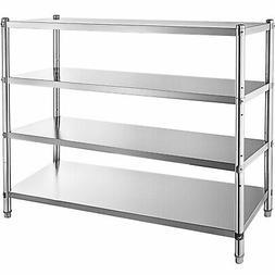 Kitchen Shelves Shelf Rack Stainless Steel Shelving Organize