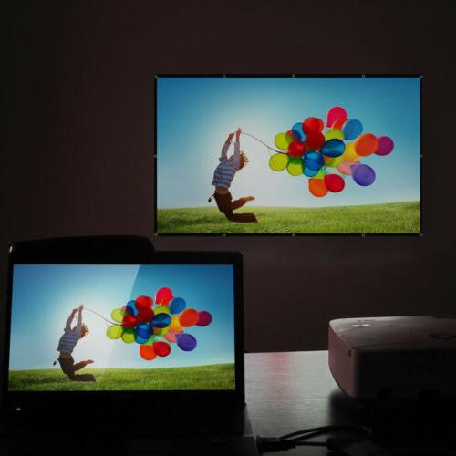 4K Portable Projector Screen Outdoor Home Cinema Theater