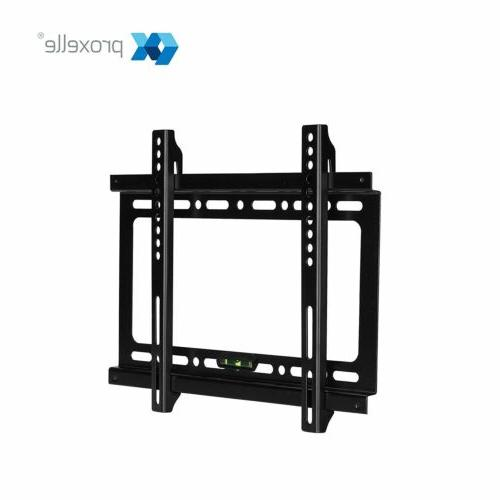 TV Wall Mount Slim Tilt Bracket Flat LCD LED Plasma 26 -70in