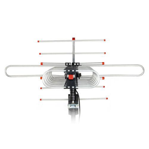 180 Miles Outdoor HD TV Long Range 38dB 360° Rotator