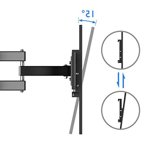 1homefurnit Articulation Arm Bracket Tilt Wall for 37 42 47 50 60 63 70 LCD Plasma Screen