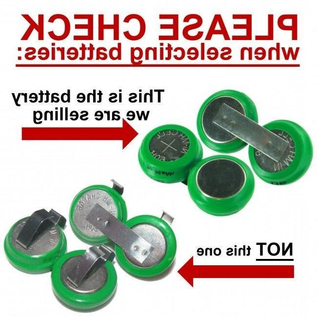 2 TV Ears Batteries For: 3.0 & Analog