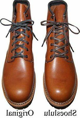 Shoeslulu Premium Waxed Shoelaces