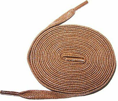 20 60 premium flat waxed cotton bootlaces