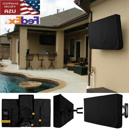 20 70 tv cover outdoor gear black