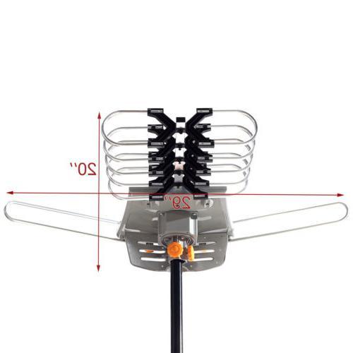 Amplified Long Range HD UHF VHF