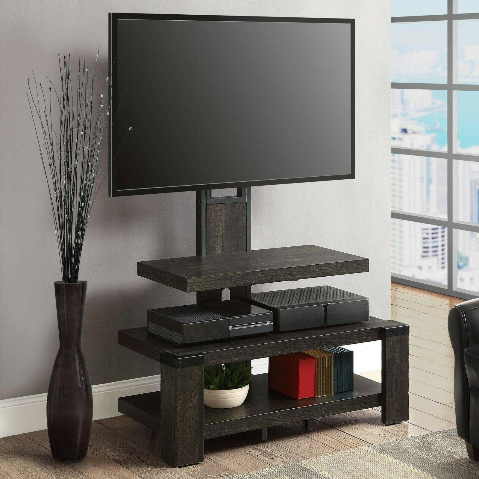 3-in-1 TV Stand 60 inch Flat Screen Entertainment Media Home