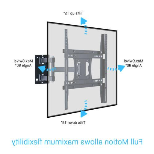 "32-50"" TV Wall Mount Bracket LCD LED Plasma Flat Full Motion"