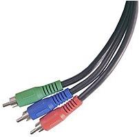GE 33296 6.0 feet Component Video Cable