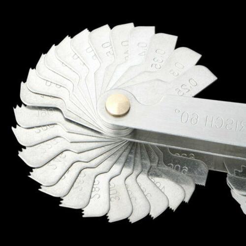 4Pcs Gauge Tool Set Gage & Metric USA