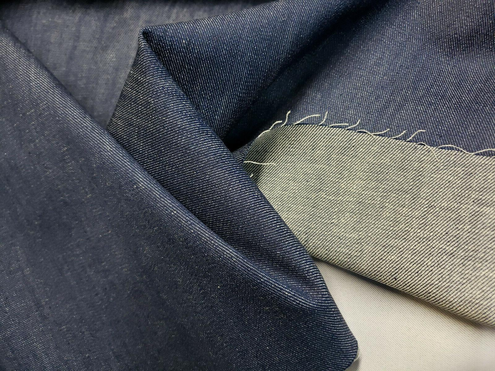 5 yard bolt 60 inch denim fabric