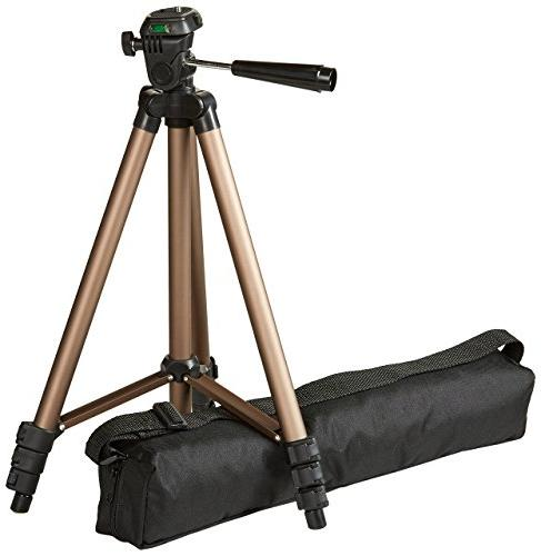 50 inch lightweight tripod with bag new